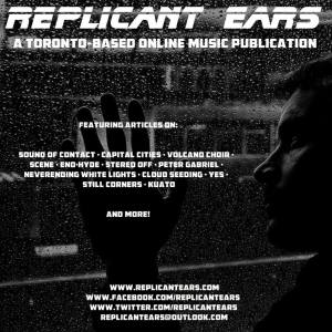 First official Replicant Ears flyer.