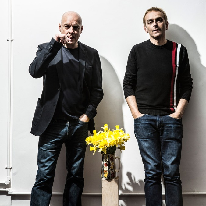 Brian Eno and Karl Hyde.