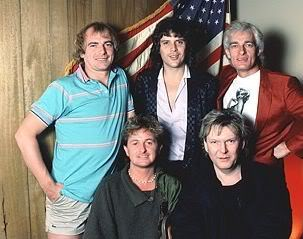 Yes 1983, L-to-R: Alan White, Jon Anderson, Trevor Rabin, Chris Squire, Tony Kaye.