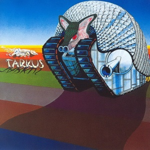 """Tarkus"" appears on Emerson, Lake & Palmer's Tarkus (1971)"