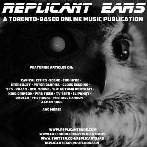 Replicant Ears flyer, Mark II