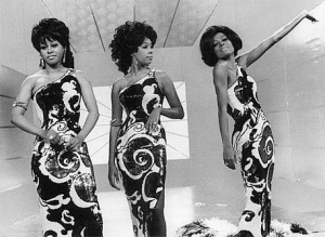 The Supremes: Holding their own against rock 'n' roll.